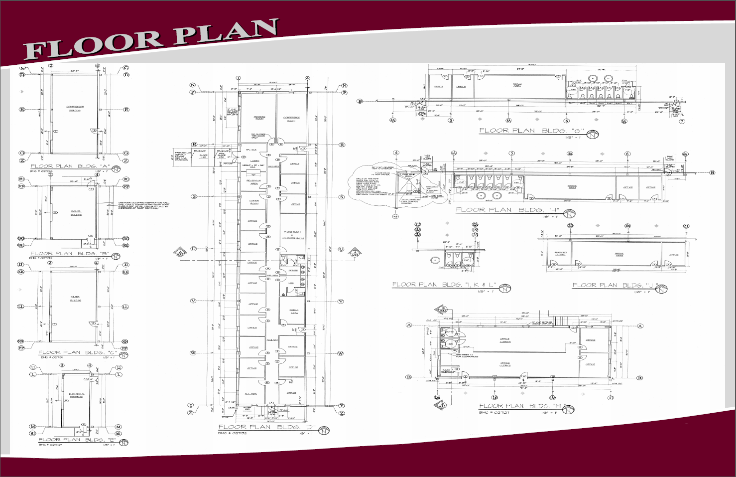 Industrial or warehouse site floor plan