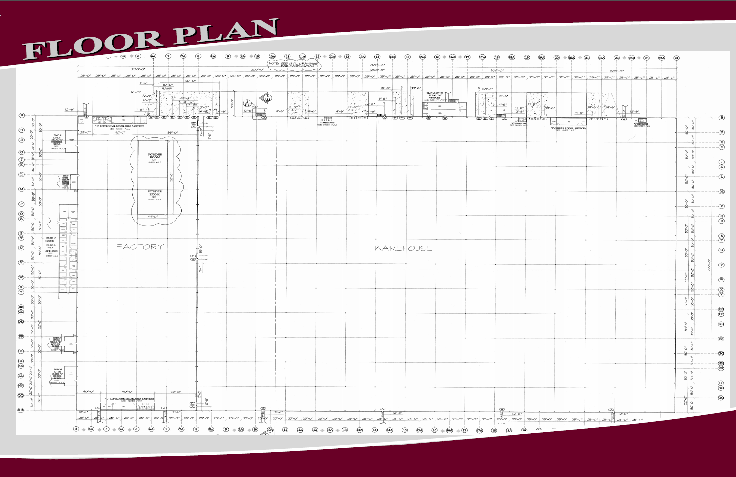 industrial site floor plan -1